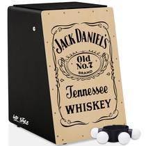 Cajón Elétrico WD Style  01 Canela Shaker -  Jack Daniel - Witler Drums
