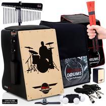 Cajón Elétrico Witler Drums  Kit De Acessórios - Baterista -