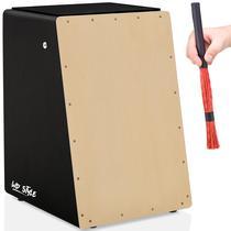 Cajón Eletroacústico Wd Style  01 Vassourinha - Witler Drums