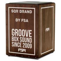 Cajon FSA Square Series FLC8585 Captação Dupla 24 Fios Tabaco -