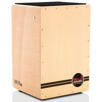 Cajón Reto Eletroacústico Witler Drums - Natural  Natural -