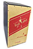 Cajon Spanking Jack Daniels/Red Label Acústico Preto -