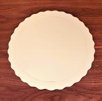 Cake board, base laminada p/ bolo, redonda, kit 24 28 e 32 cm, ouro - 60 unidades - Estrela Festas