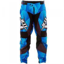 Calça Adulto Jett Lite Motocross Azul Pro Tork -