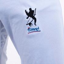 Calça Capoeira Em Poliamida - Torah - Adulto -