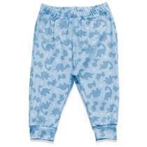Calça Culote Estampado Hug Azul CAL00898 -