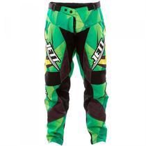 Calça De Motocross Jett Lite Verde Pro Tork -
