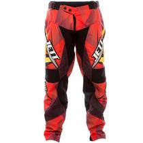 Calça De Motocross Jett Lite Vermelho Pro Tork -