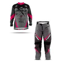 Calça e camisa motocross insane x - Pro Tork