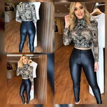 Calça Feminina Disco Pants Cirre - Beleza pura moda