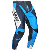 Calça Ims Sprint Azul Ventilada Reforçada Motocross Trilha Enduro -