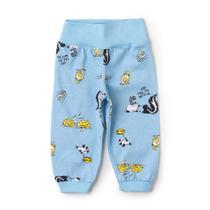 Calça Infantil Menino Amigos Animais Azul - Fantoni