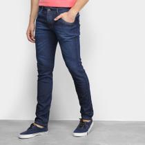 Calça Jeans Coffee Det Bt Com Bigode Masculina -