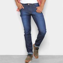 Calça Jeans Coffee Skinny Destroyed Masculina -