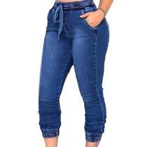 Calça Jeans Feminina Jogger Cos Elastico Blogueira Jog01 - Opa Linda