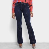 Calça Jeans Flare Sawary Feminina -