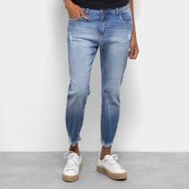 Calça Jeans Girlfriend Cropped Colcci Feminina -