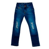 calça jeans Infantil manabana menina -