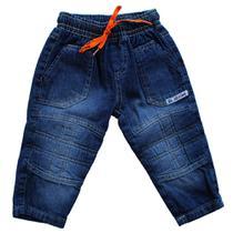Calça Jeans Masculina infantil  bebê - Chega Mais