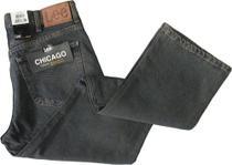 Calça Jeans Masculina LEE original modelo Chicago Cor Preta Jeans_48 -