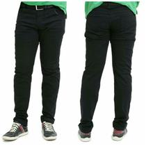 Calça jeans masculina Preta com elastano oferta ilimitada - Mania Do Jeans