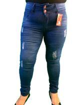 Calça Jeans Plus Size Roupas Femininas Cintura Alta Skinny - Mc2 Jeans
