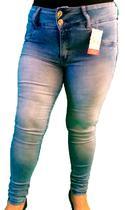 Calça Jeans Plus Size Skinny Roupas Femininas Cintura Alta - Mc2 Jeans