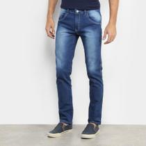Calça Jeans Preston Masculino Básica C Lycra-21044 -