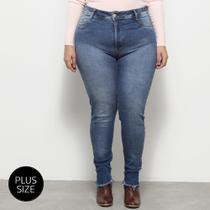 Calça Jeans Sawary Cigarrete Plus Size Feminina -