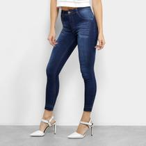 Calça Jeans Skinny Biotipo Melissa Midi Soft Feminina -