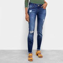 Calça Jeans Skinny Colcci Cintura Média Katy Feminina -