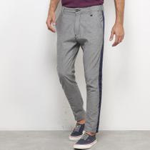 Calça Jeans Skinny Forum Listra Lateral Masculina -