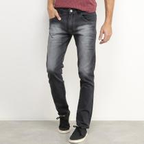 Calça Jeans Skinny Preston Estonada Com Elastano Masculina -
