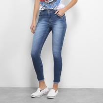 Calça Jeans Skinny Zune Estonada Feminina -