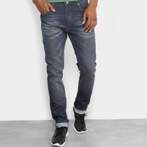 Calça Jeans Slim Forum Alexandre Estonada Masculina -