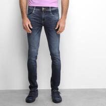 Calça Jeans Slim Sawary Estonada Masculina -