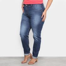 Calça Jeans Xtra Charm Plus Size Skinny + Cinta Modeladora Feminina -