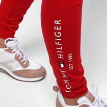 Calça Legging Tommy Hilfiger Básica Logo Feminina -