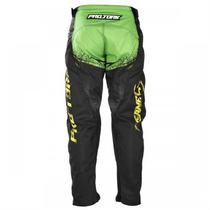 Calça Motocross Infantil Insane 5 Verde e Preto Pro Tork -