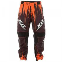 Calça Motocross Infantil Jett Laranja Pro Tork -