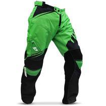 Calça Motocross Pro Tork Factory Edition Trilha Preto e Verde -