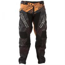 Calça Motocross Shield Laranja E Preto Pro Tork -