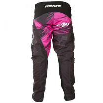 Calça Motocross Shield Pink E Preto Pro Tork -