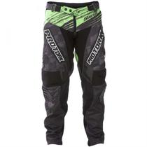Calça Motocross Shield Poliéster Verde Pro Tork -