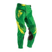Calça Motocross Thor Core Contro Verde Com Amarelo -