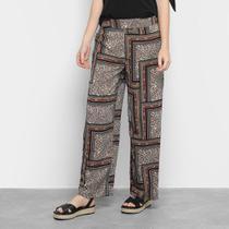 Calça Pantalona Facinelli Estampada Feminina -
