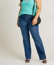 Calça Plus Size Feminina Jeans Boot Cut - Cambos Premium