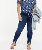 Calça Plus Size Feminina Jeans Cigarrete - Cambos Premium