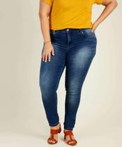 Calça Plus Size Feminina Jeans Skinny Biotipo -
