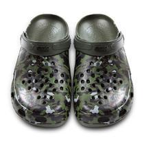 Calçado BRK Pro Fisher Babuch Antiderrapante BB36 - Camuflado com alça Verde musgo -